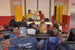 Rencontres autour du jeu d'échecs à l'école élémentaire Jules Ferry.