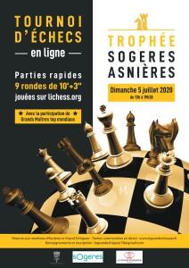 Affiche Tournoi d'echecs en ligne_