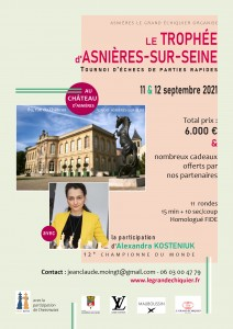 Affiche Trophée Asnières 2021